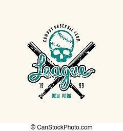 Emblem of baseball league