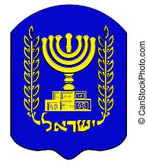 Emblem of Israel.