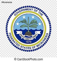 Emblem of Micronesia