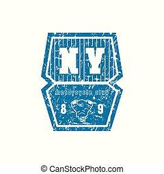 Emblem of motorcycle club