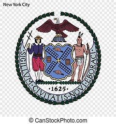 Emblem of New York