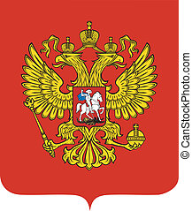 Emblem of Russia - vector State Emblem of Russia