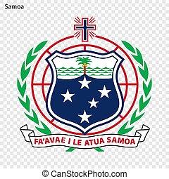 Emblem of Samoa