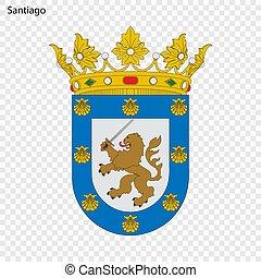 Emblem of Santiago