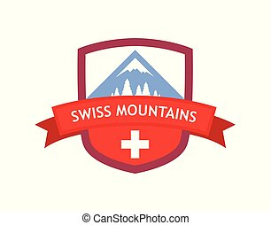 Emblem of Swiss Mountains