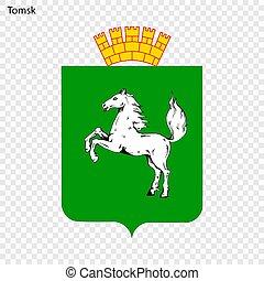 Emblem of Tomsk.