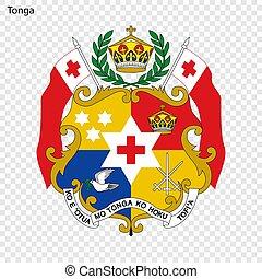 Emblem of Tonga