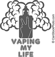 Emblem or logo electronic cigarette - Electronic Cigarette...
