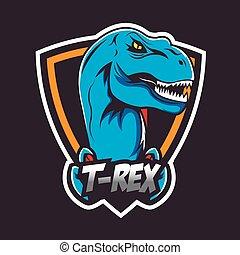 Emblem or logo for a sports team, logo sport, insigna for ...