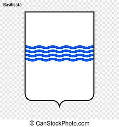 Emblem province of Italy. - Emblem of Basilicata, province...