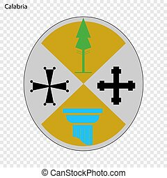 Emblem province of Italy. - Emblem of Calabria, province of...