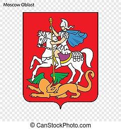 Emblem Province . Vector illustration