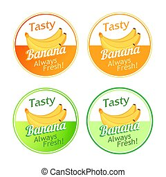 Emblem with Bananas