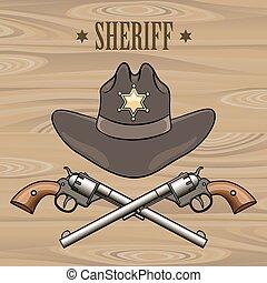 emblema, alguacil