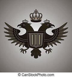 emblema, aquila