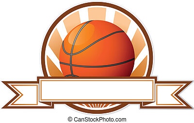 emblema, basquetebol