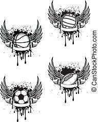 emblema, deportes