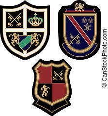 emblema, emblema, desenho