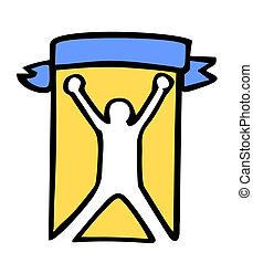 emblema, ganador