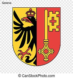 emblema, ginebra