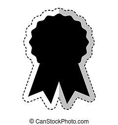 emblema, nastro, sigillo
