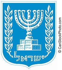 emblema nazionale, israele