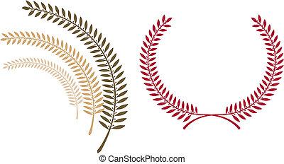 emblema, plantilla