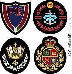 emblema, projeto fixo