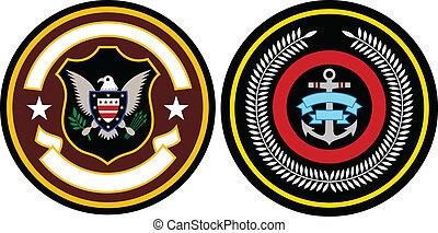 emblema, remendo, desenho