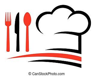 emblema, restaurante