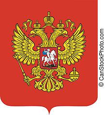 emblema, rusia