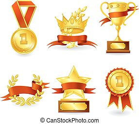 emblema, troféu, prêmio