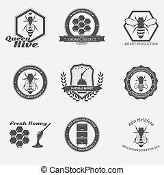 emblemas, abeja