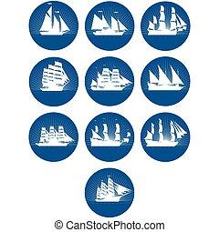 emblemas, velejando, ships-3