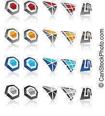 emblems., セット, 現代