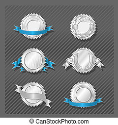 EMBLEMS SERIES 08 - Medallion - Silver Emblems and Insignia...