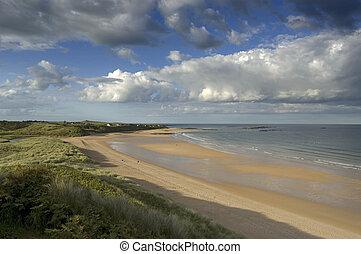 Embleton Bay from dunes