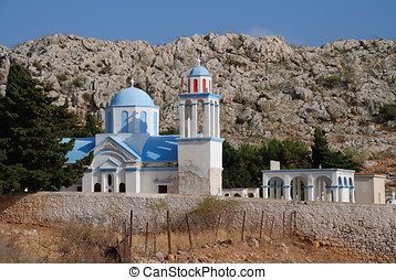 Emborio cemetery, Halki