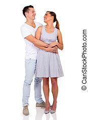 embracing pares