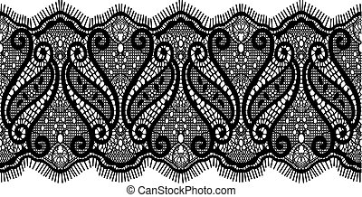 embroidered lace design in vector format very easy to edit,...