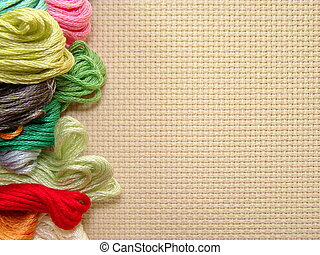cross-stitch - embroidery, cross-stitch,  backgrounds