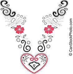 Embroidery fashion
