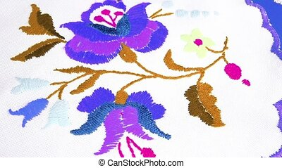 Embroidery grandma s hobby floral flower embroidery