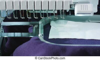 Embroidery Machine Work