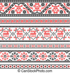 Embroidery ornament