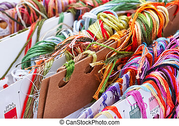 embroidery threads floss