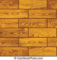 emelet, fából való, -, seamless, struktúra, vektor