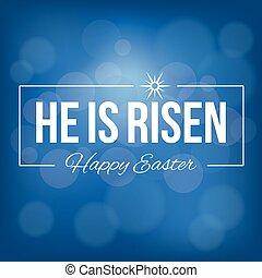 emelkedett, bokeh, háttér, háttér, húsvét, ő