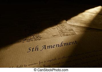 emenda, 5º, constituição