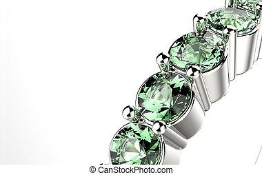 emerald., リング